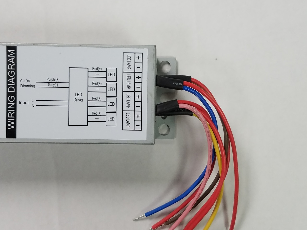 Macron 4x 25w 100w Multi Channel Driver 10v Led Wiring Diagram Larger More Photos