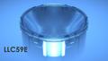 Optic shown inside LLH59SPB holder.