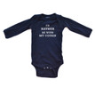 I'd Rather Be With My Cousin Baby Long Sleeve Infant Bodysuit