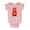 Little Love Machine Cute Valentine's Day Short Sleeve Baby Bodysuit