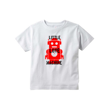Little Love Machine Cute Valentine's Day Toddler Cotton Tee