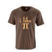 "Adult Tshirt ""I Like Pi"" π Funny Nerdy Geek Humor 3.14 Pi Day"