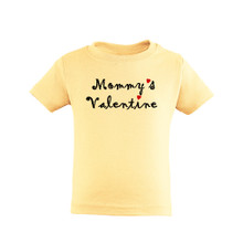 "Super Cute ""Mommy's Valentine"" Valentine's Day Adorable Toddler Tee"
