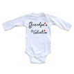 """Grandpa's Valentine"" Valentine's Day Adorable Baby Long Sleeve Bodysuit"