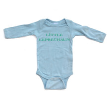 Little Leprechaun - Saint Patrick's Day Baby Long Sleeve Adorable Bodysuit