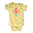 Cool Native American Aztec Southwest Indian Style Print Short Baby Bodysuit