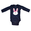 Apericots Cute Baby Girl Easter Bunny Spring Long Sleeve Soft Cotton Bodysuit