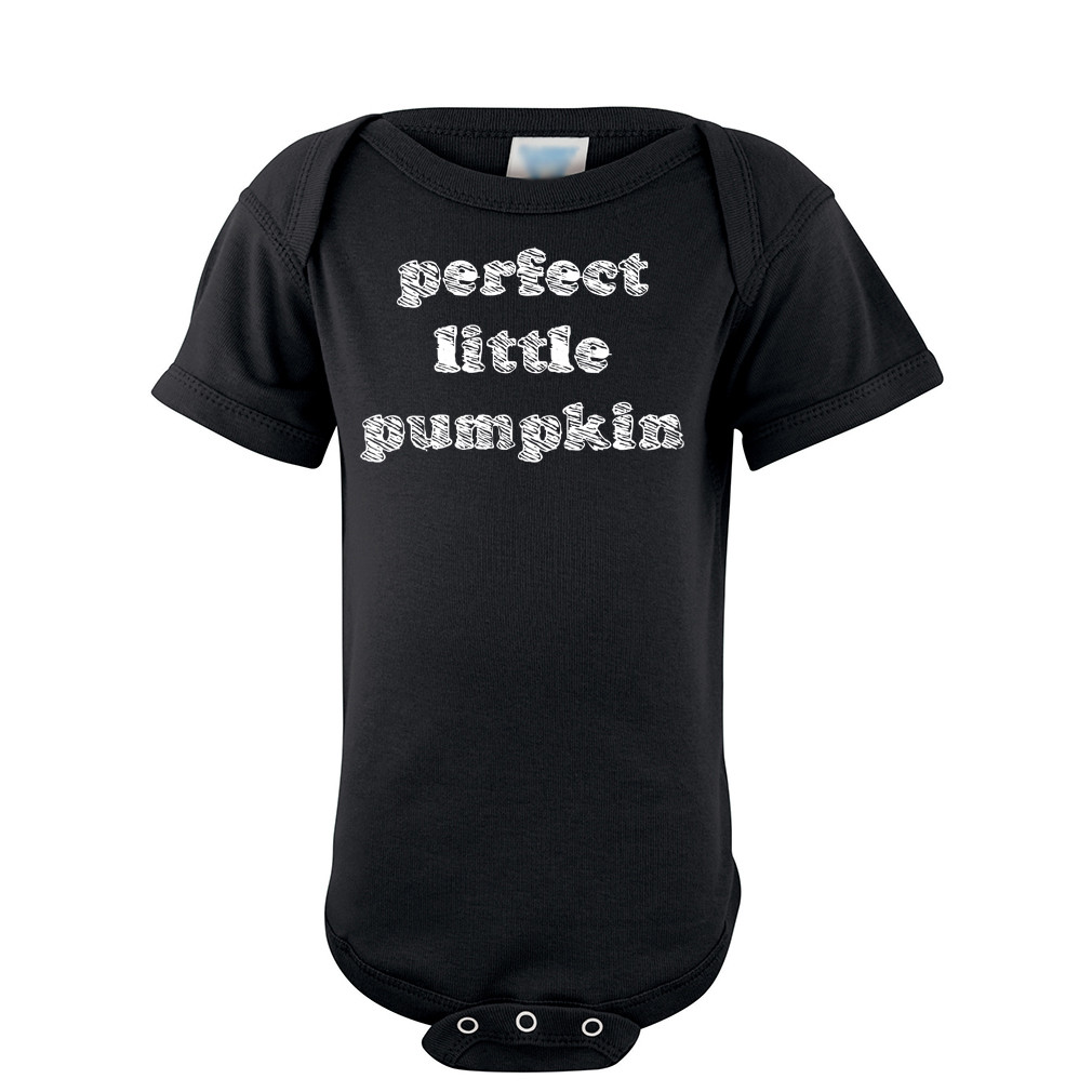 bc1cd8ebf8f9 Apericots Fun Halloween Perfect Little Pumpkin Unisex Short Sleeve ...