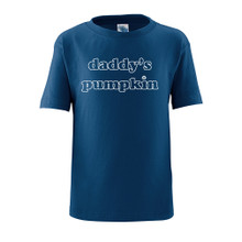 "Apericots Cute ""Daddy's Pumpkin"" Fun Halloween Unisex Soft Cotton Kids T-Shirt"