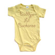 Daddy's Lil Buckaroo Baby Soft Cotton Country Western Bodysuit