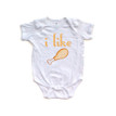 "Apericots ""I Like Turkey"" Funny Unisex Infant Thanksgiving Foodie Fun Holiday Cute Comfy Baby Bodysuit"