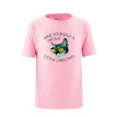 Apericots Have Yourself A Meowy Little Christmas Cute Holiday Pun Kitty Cat Funny Unisex Kids Tee