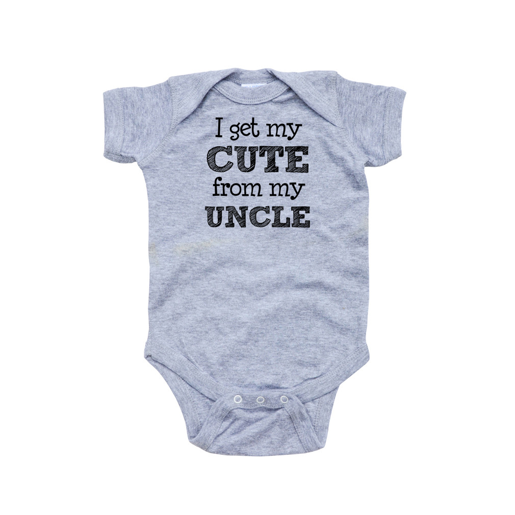 My Aunt Is Better Than Your/'s Blue or Pink Cotton Baby Bodysuit Niece Nephew