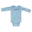 Apericots J'adore (French for I Adore You) Cute Baby Long Sleeve Bodysuit