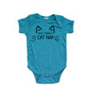 Apericots Just Taking a Cat Nap Short Sleeve Infant Bodysuit