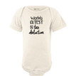 Apericots World's Cutest Tax Deduction Funny Cute Short Sleeve Baby Bodysuit