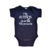 Apericots My Cuteness is in the 99th Percentile Short Sleeve Baby Bodysuit