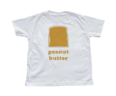 Twins Best Friends Toddler Kids T-Shirt Peanut Butter (Goes With Jelly)