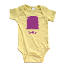 Twins or Halloween Jelly Baby Bodysuit (Goes With Peanut Butter)
