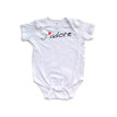 J'adore (French for I Adore You) Cute Infant Valentine's Day Bodysuit