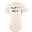 Mommy's Boy Sweet Short Sleeve Baby Bodysuit