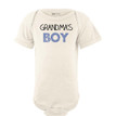 Grandma's Boy Sweet Short Sleeve Baby Bodysuit