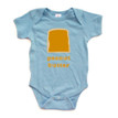 Twins or Halloween Baby Bodysuit Peanut Butter (Goes With Jelly)