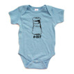 Twins or Friends Idea - Twin Short Sleeve Bodysuit With Salt (Goes With Pepper) Print