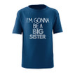 Apericots I'm Gonna Be a Big Sister Short Sleeve Kids Tee Shirt