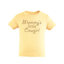 Mommy's Little Cowgirl Adorable Country Western Girls Tee Shirt