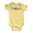 Apericots Italia Italy Flag Italian Short Sleeve Infant Bodysuit