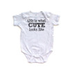 This is What Cute Looks Like Short Sleeve Baby Bodysuit