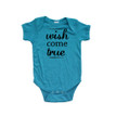 Apericots Wish Come True Cute Unisex Short Sleeve Infant Bodysuit