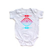 Baby Bodysuit With Cute Aztec Southwest Native American Geometric Print