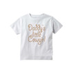 "Apericots Cute ""Daddy's Little Cowgirl"" Organic Short Sleeve Kids Tee"