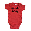 Cute Inclusive We All Belong Short Sleeve Baby Bodysuit