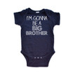 I'm Gonna Be a Big Brother Short Sleeve Baby Bodysuit