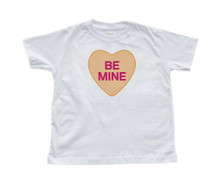 Be Mine - Candy Heart - Valentine's - White Toddler T-Shirt