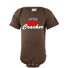 Cute Little Fire Cracker Fun Fourth of July Baby Bodysuit (Goes With Firecracker Tee)