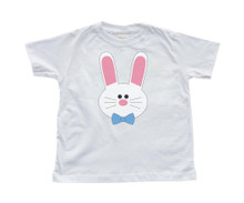 Boy Bunny - Easter - White Toddler T-Shirt