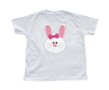 Girl Bunny - Easter - White Toddler T-Shirt