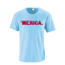 "United States ""'Merica"" Design USA Independence Day Fourth of July July 4th Adult Tee"
