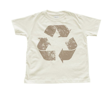 "Boy's ""Recycle"" Natural Toddler T-Shirt"