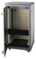 """20U 19"""" Enclosed Rack Cabinet for Audio, Video or Networking Systems"""