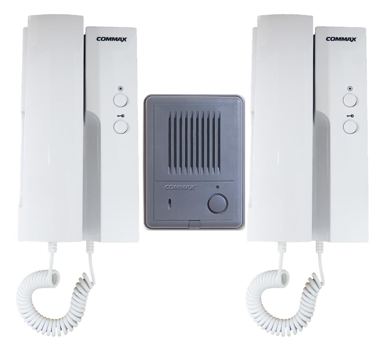 Commax Intercom 1 To 2 Audiophones System Dp Hp01 Dr 2k