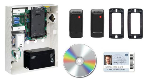 Rosslare Two Doors TCP/IP Access Control Kit with 50 Credentials AC-K07U