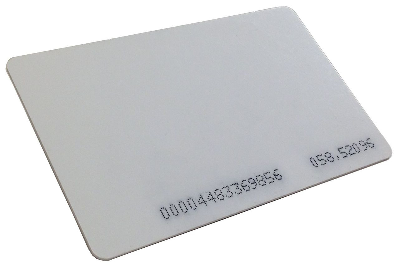 Rosslare 125KHZ Proximity Read-Only ISO Card Pack of 25 AT-ERS-26A-3001