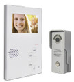 "4.3"" Video doorphone and waterproof camera"