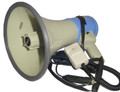 ER-66S 25W megaphone with built-in siren and whistle and DC adapter included