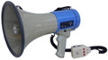 ER-66S-USB 25W MEGAPHONE WITH USB/SD/MMC/AUX IN/, WHISTLE AND SIREN BUILT-IN